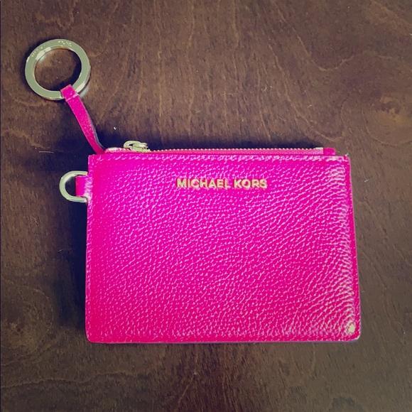 New Michael Kors ID key chain wristlet